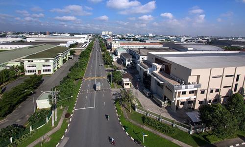 Một khu công nghiệp tại tỉnh Bình Dương. Ảnh: VSIP