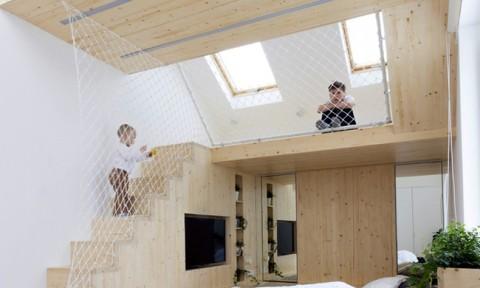 Nhà hơn 20 m2 vẫn thoải mái cho 5 người ở nhờ thiết kế thông minh