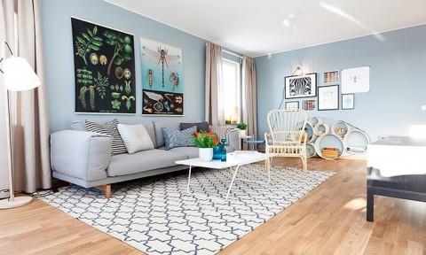 Trang trí căn hộ theo phong cách Bắc Âu