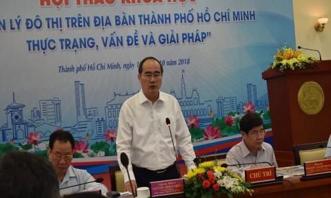 """TPHCM tìm giải pháp gỡ """"nút thắt"""" cho đô thị"""