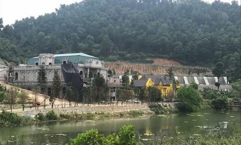 """""""Xẻ thịt"""" đất rừng ở Sóc Sơn: Chủ tịch Hà Nội yêu cầu xử nghiêm"""