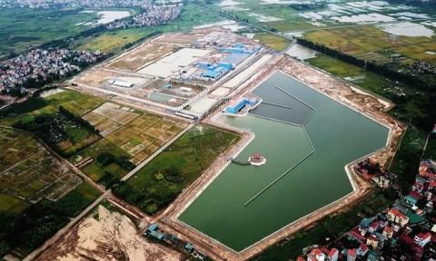 Hà Nội khánh thành Nhà máy nước sạch lớn nhất miền Bắc