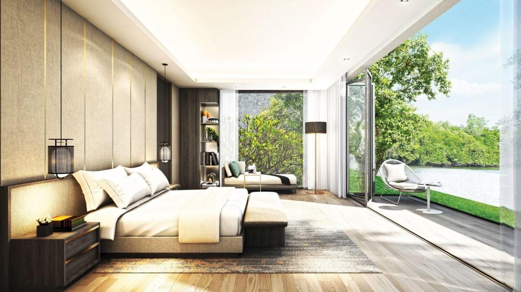 Phòng ngủ thiết kế theo xu hướng mở