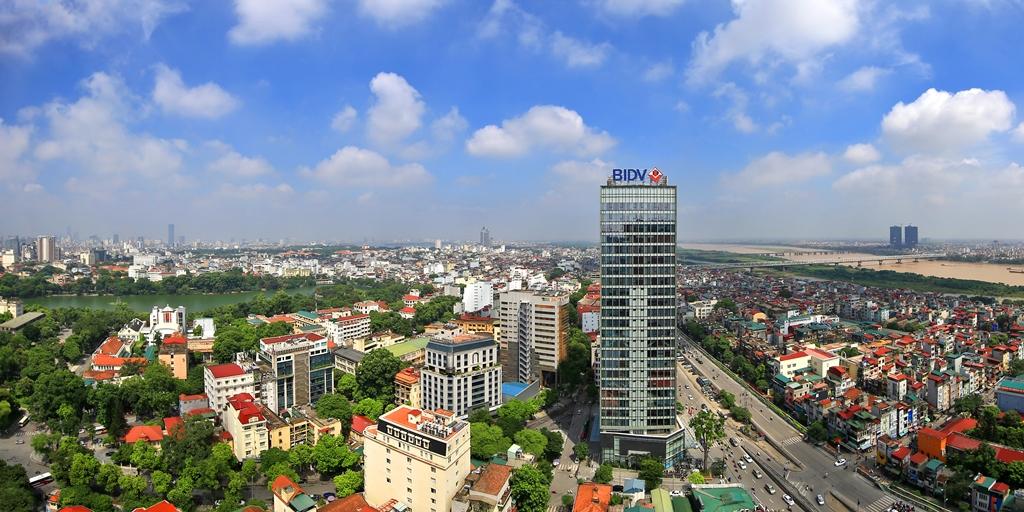 Nhà cao tầng xen cấy xây mới tại khu vực Quận Hoàn Kiến, TP Hà Nội