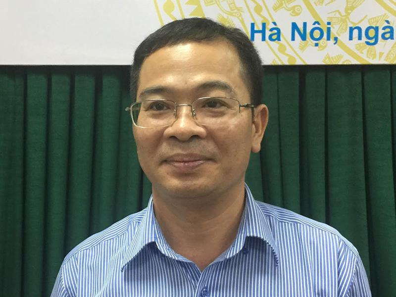 Ông Nguyễn Tân Thịnh, Phó cục trưởng Cục Quản lý công sản (Bộ Tài chính)