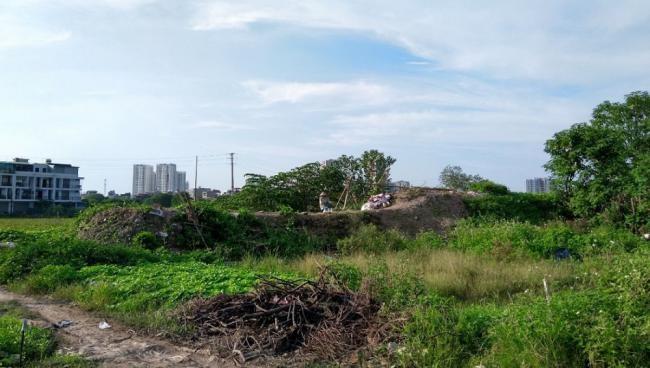 Dự án khu đô thị mới Thịnh Liệt (Hoàng Mai, Hà Nội) bỏ hoang hơn 10 năm nay