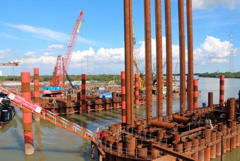 Yêu cầu thẩm tra nguồn gốc vật liệu dự án chống ngập 10.000 tỉ đồng. Ảnh: vietnambiz.vn
