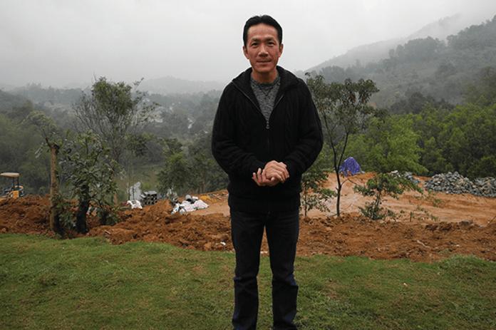 Ông Trung – người sáng lập trung tâm Aquila Center