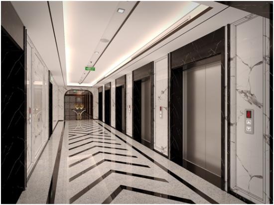 King Palace sở hữu 7 thang máy thông minh, đạt vận tốc lên tới 4m/s