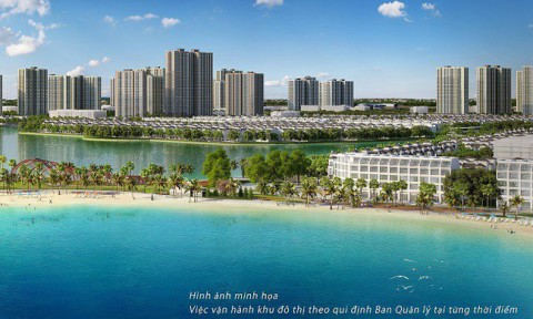 Vinhomes chính thức công bố đại đô thị có biển hồ nước mặn đầu tiên tại Việt Nam