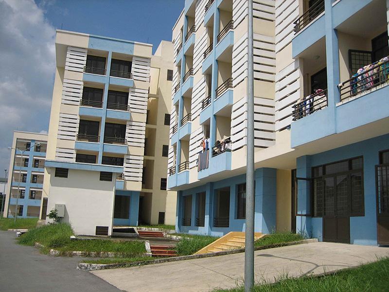 Vị trí phân bố căn hộ giá rẻ đang có sự dịch chuyển ngày càng xa trung tâm thành phố. Ảnh minh họa