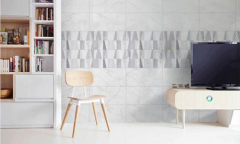 Gạch ốp lát cho ngôi nhà phong cách tối giản