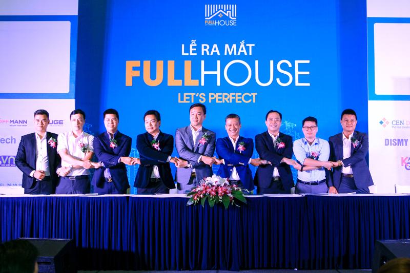 Các thành viên chiến lược của Fullhouse ra mắt khách hàng