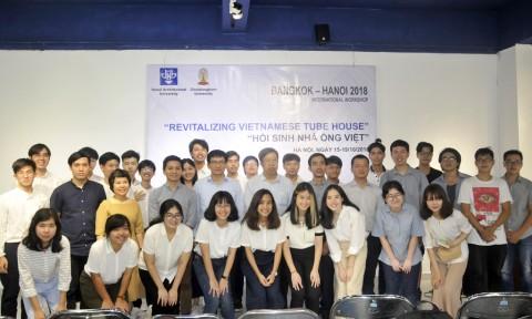 Workshop thường niên quốc tế Bangkok – Hà Nội: Hồi sinh nhà ống Việt