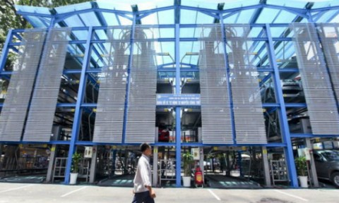 Hà Nội dự kiến xây 204 bãi đỗ xe công cộng trong nội đô