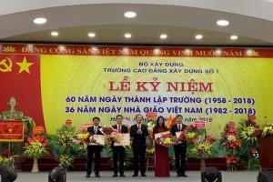 Lãnh đạo Bộ Xây dựng chúc mừng ngày Nhà giáo Việt Nam tại các trường thuộc ngành Xây dựng