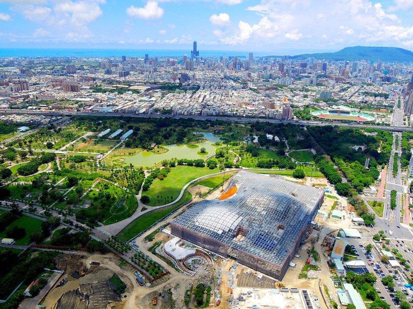 Trung tâm biểu diễn nghệ thuật quốc gia Kaohsiung (ảnh: Mecanoo)
