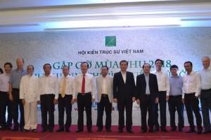 """Gặp gỡ mùa thu 2018 với Hội nghị """"Lý luận và phê bình kiến trúc ở Việt Nam"""""""