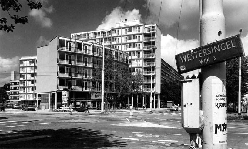 Kruisplein, 1984 (ảnh: Mecanoo)