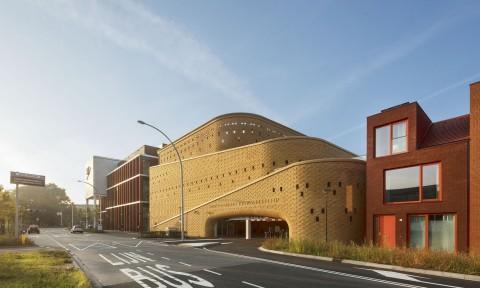 Bãi đỗ xe Katwolderplein / Dok architects