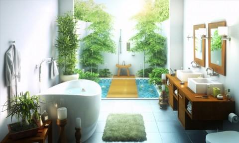 Những mẫu phòng tắm ngoài trời tuyệt đẹp