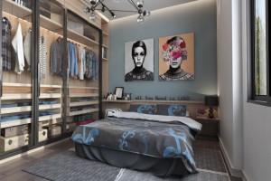 Mẫu phòng ngủ sáng tạo dành cho người trẻ tuổi