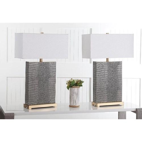 Thân và chụp đèn hình hộp thích hợp với những căn nhà phong cách công nghiệp hoặc hiện đại
