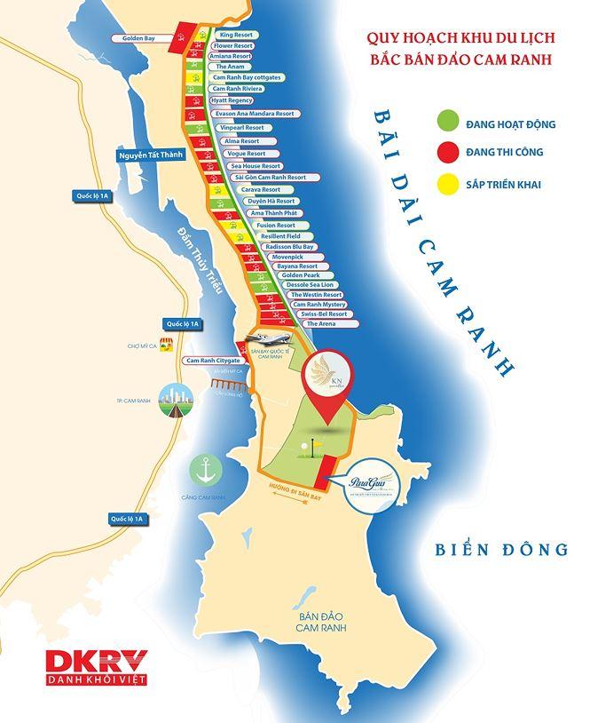 Thị trường bất động sản Khánh Hòa luôn phát triển tỷ lệ thuận với ngành du lịch