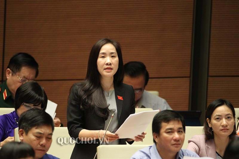 Đại biểu Đoàn Thị Thanh Mai. Ảnh: Quochoi.vn