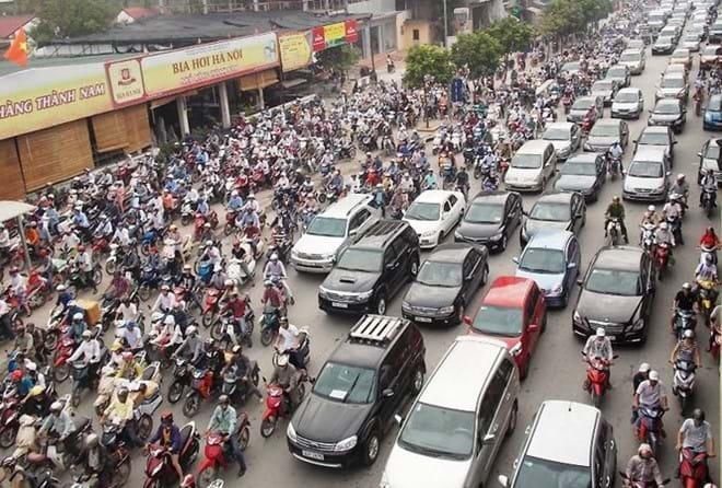 Thành phố Hà Nội được Chính phủ đồng ý để lập đề án thu phí phương tiện vào nội đô
