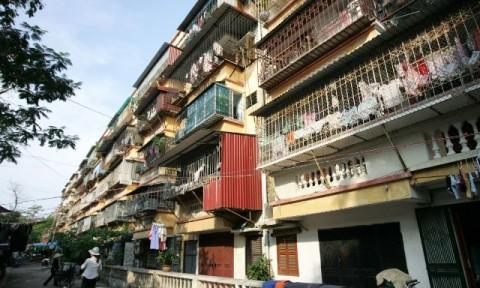 Hà Nội đã giao 20 đơn vị lập quy hoạch 29 chung cư cũ