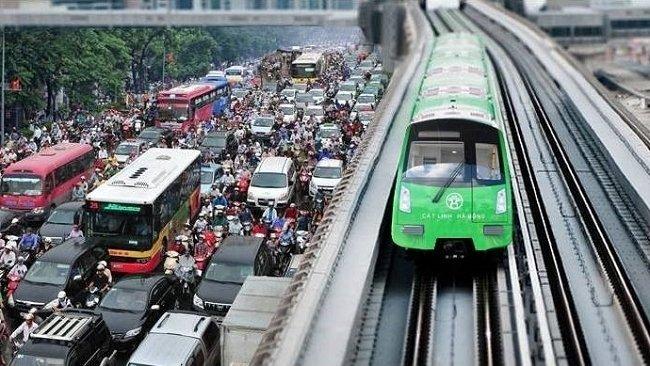 Tuyến đường sắt đô thị đầu tiên của Hà Nội