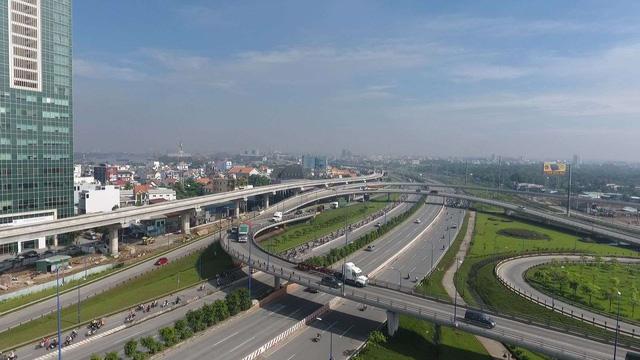 Hạ tầng giao thông vẫn là điểm nhấn của thị trường khu Đông Sài Gòn. Ảnh: minh họa