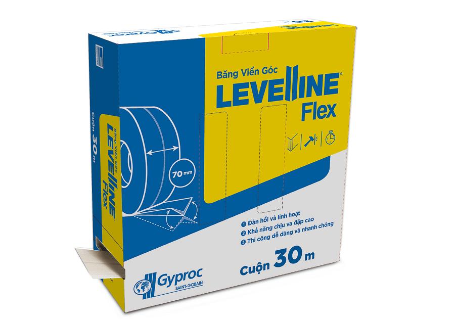 Băng viền góc Levelline Flex – giải pháp cho vấn đề nứt vỡ tường, trần