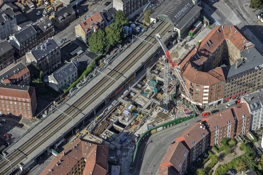 """Thi công công trình ga metro ngầm đảm bảo yếu tố an toàn đối với các công trình nhà cũ """"nhạy cảm"""" khu vực trung tâm nội đô"""