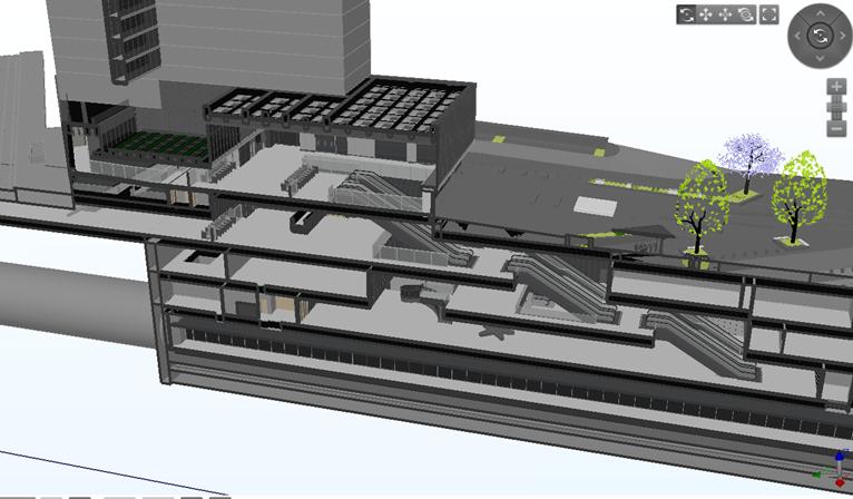 Ứng dụng BIM trong thiết kế và thi công ga ngầm