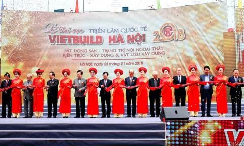 Khai mạc Triển lãm VIETBUILD Hà Nội lần thứ ba năm 2018 tại Hà Nội