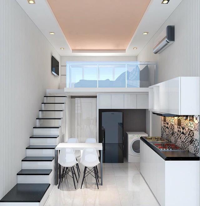 Diện tích nhỏ nhưng được trang bị tiện ích đầy đủ, các khu nhà cho thuê dài hạn là lựa chọn tối ưu cho người có thu nhập thấp