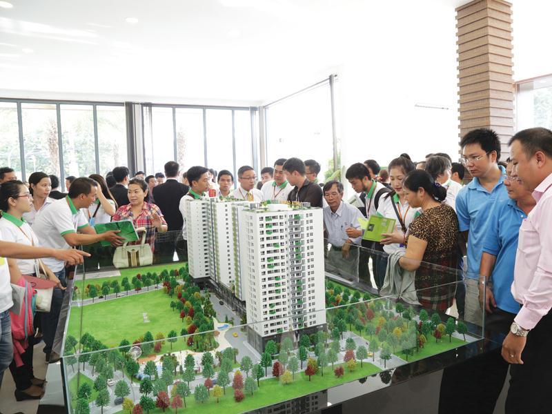 Để huy động vốn, có chủ đầu tư chỉ thu 20% giá trị căn hộ và giúp người mua vay vốn ngân hàng tới 80%