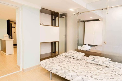 Một căn hộ ở quận Bình Thạnh, TP HCM đang rao cho thuê ngắn hạn