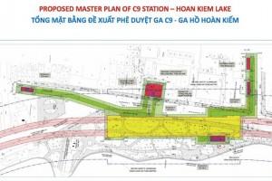 Đặt ga ngầm C9 ngay cạnh Hồ Gươm: Chuyên gia còn nhiều ý kiến trái chiều