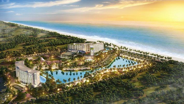 Phối cảnh dư án Mövenpick Resort Waverly Phú Quốc - Một trong những dự án đang được giới đầu tư quan tâm