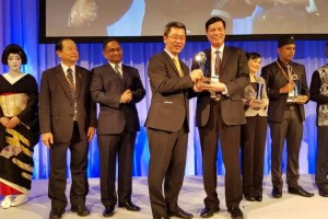 Quảng Ninh nhận giải thưởng ASOCIO 2018 dành cho chính quyền số