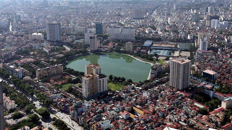 UBND TP Hà Nội đề xuất điều chỉnh cục bộ Quy hoạch chung xây dựng thủ đô Hà Nội đến năm 2030 và tầm nhìn đến năm 2050 (Ảnh: Lê Anh Dũng/VietNamNet)