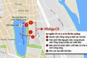 Giải pháp nào cho nhà ga C9 tại Hồ Gươm