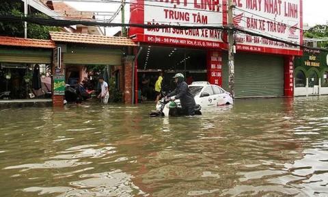 TPHCM 'thúc thủ' trước bão số 9 do 'cạn'… tầm nhìn?