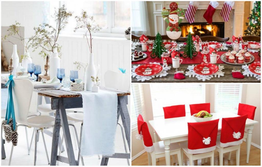 Chỉ cần một chút khéo léo, bạn đã có một bàn ăn mang đậm màu sắc Noel