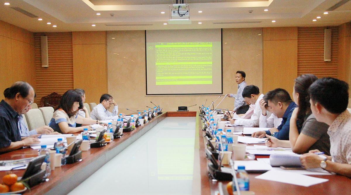 Đơn vị tư vấn trình bày Đề án điều chỉnh quy hoạch chung TP Đà Nẵng đến năm 2030, tầm nhìn 2045.