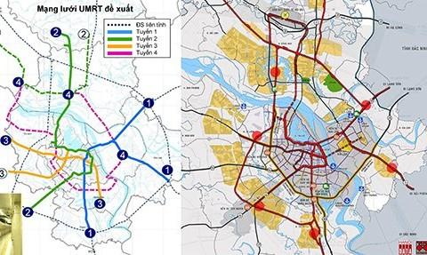 Tuyến đường sắt đô thị số 3 có thể đáp ứng 3 mục tiêu