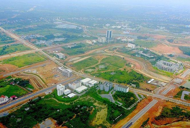 'Siêu' đô thị Hòa Lạc rộng khoảng 17.000ha, chứa 60 vạn dân. Ảnh minh họa